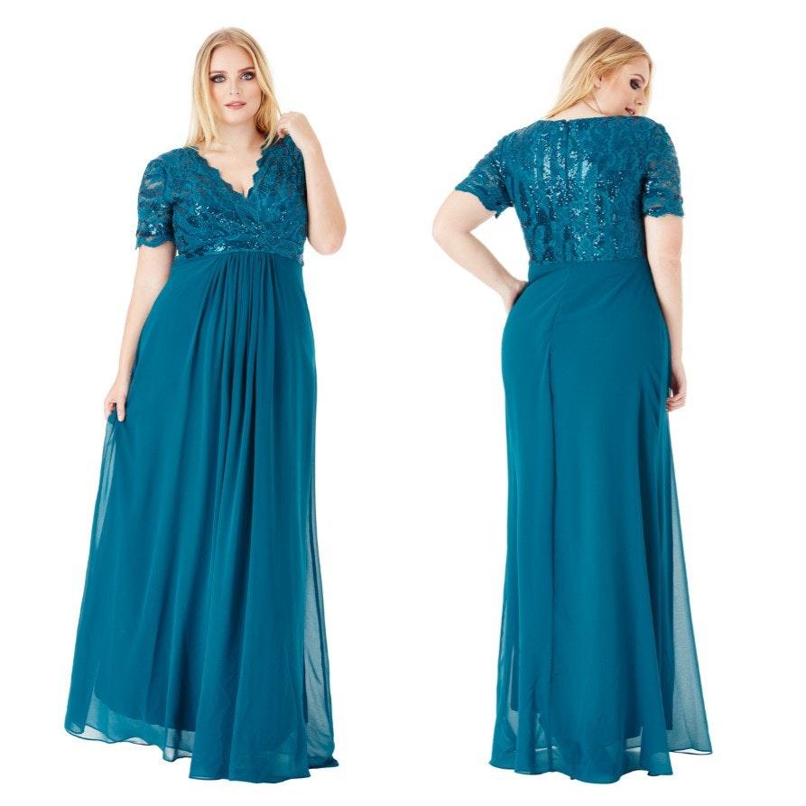 Lange jurken maat 50
