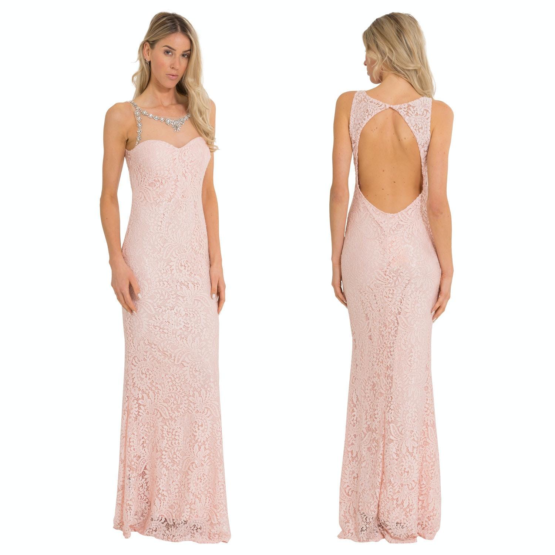 Lange jurk lage rug