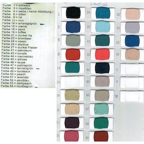 Kleurenkaart lautinel